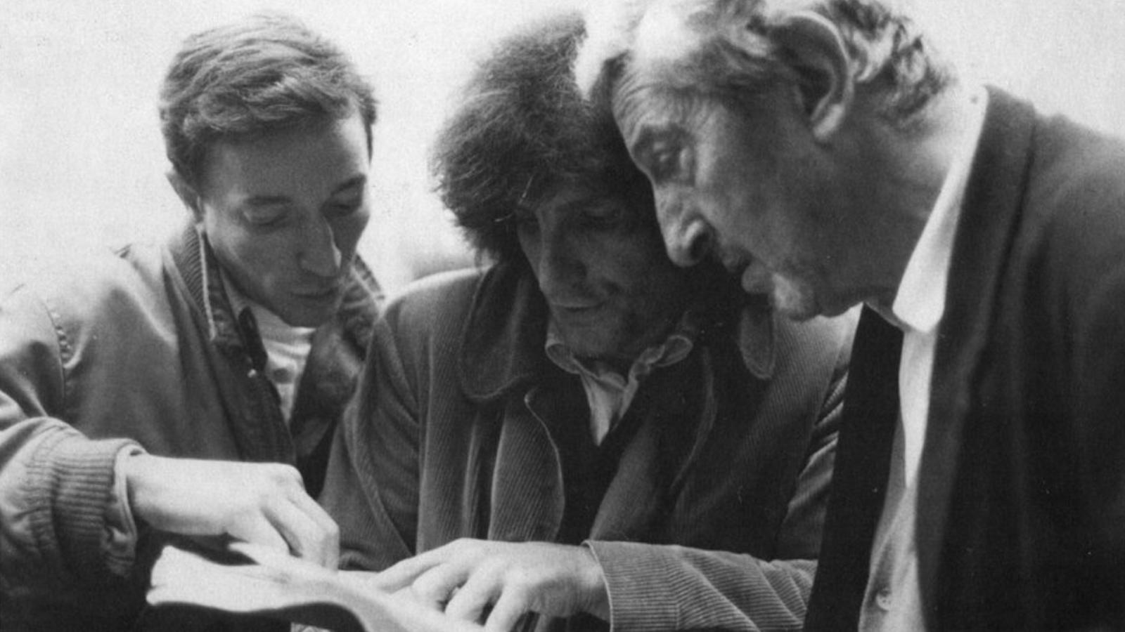 Philippe Garrel (center)