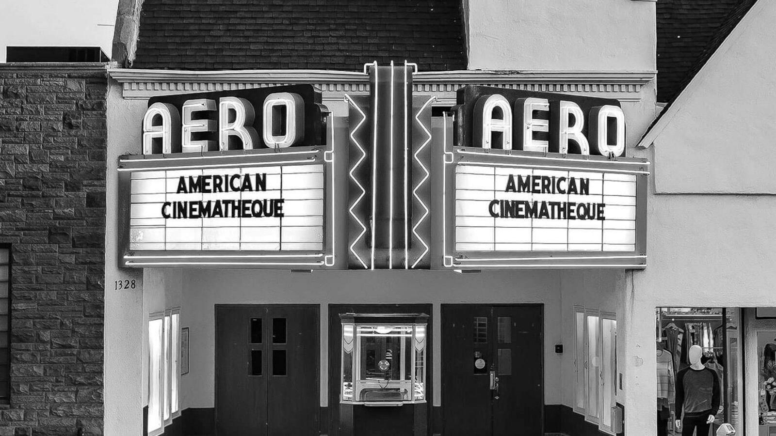 The Aero Theatre