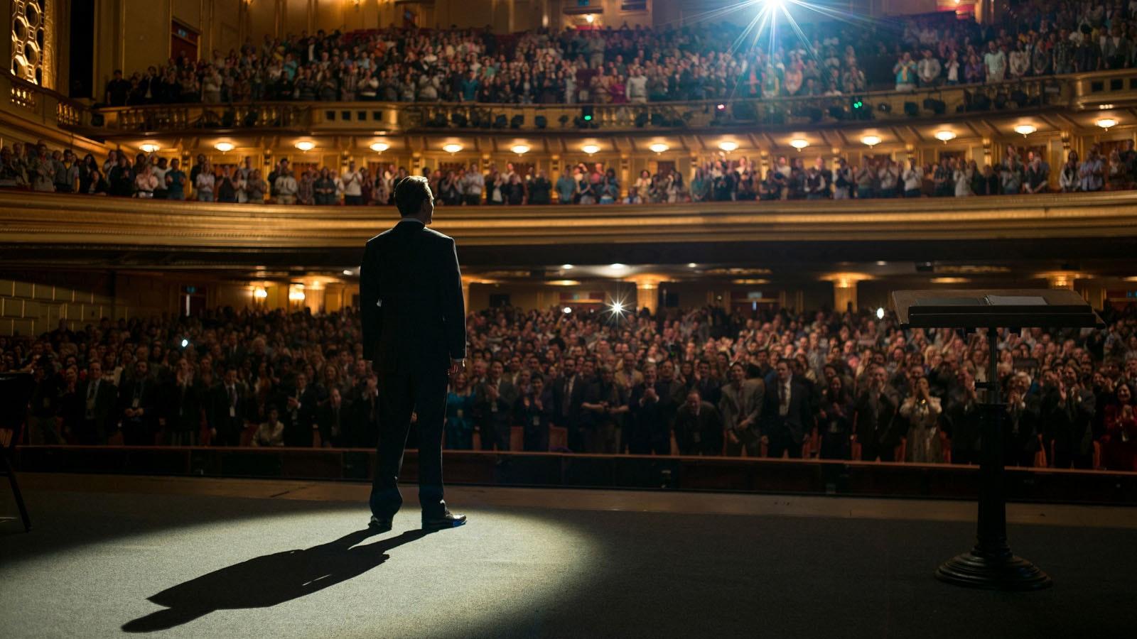 Danny Boyle, Aaron Sorkin, Michael Fassbender