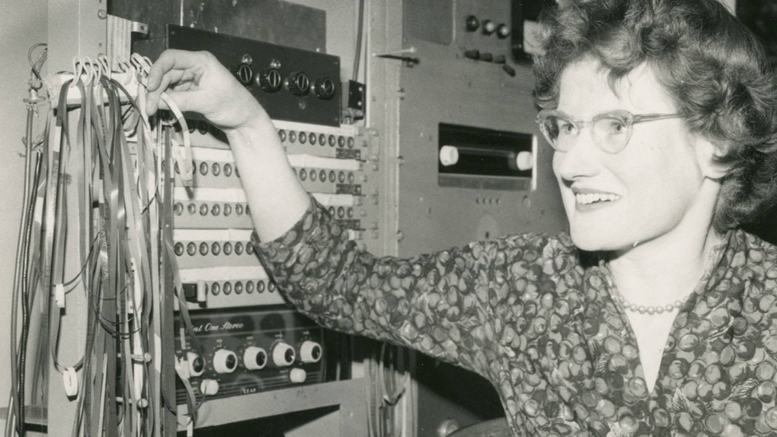 Daphne Oram, photo courtesy of Oram Trust